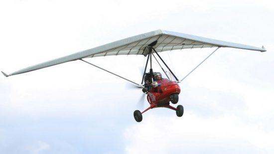 Полет с Мотоделта