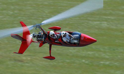 Полет с жирокоптер