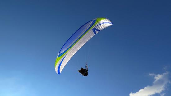 Полет с парапланер